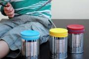 أفكار للاستفادة من علب حليب الأطفال