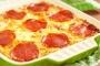 معكرونة البيتزا بالبيبيروني