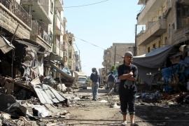 حلقة جديدة من فيلم التغريبة الفلسطينية لكن في معرة النعمان