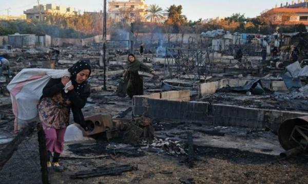 """""""لاجئون تحت الصفر"""".. نحوهم يزحف شتاء لبنان القارس"""