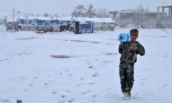 لبنان.. مأساة لاجئي سوريا تتكرر شتاء